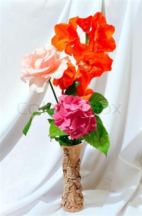 Hortensie The 2779 sch 246 ne gladiolen hortensien und sommer blumenstrau 223