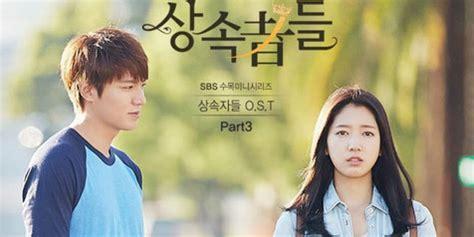 film drama korea terbaru yg bagus lee min ho 6 drama korea terbaik yang mendapat review