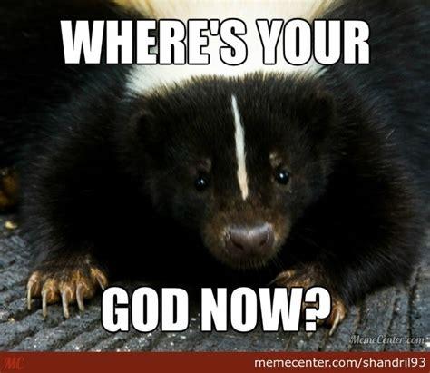 Skunk Meme - image gallery skunk meme