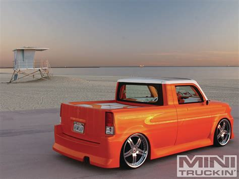 2006 scion xb exbox mini truckin magazine
