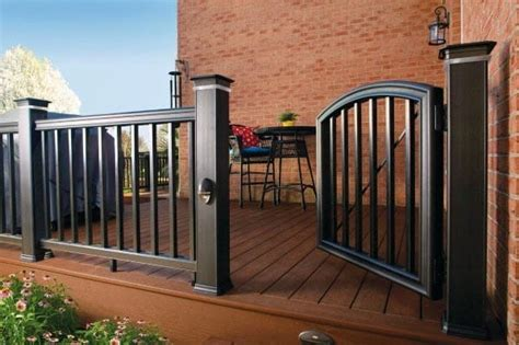 top   deck gate ideas backyard designs