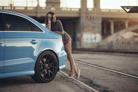 blue girly cars sky blue audi s3 sedan on vorsteiner v ff 103 wheels in