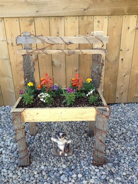 flower bed bench diy homemade flower bed bench my next big project