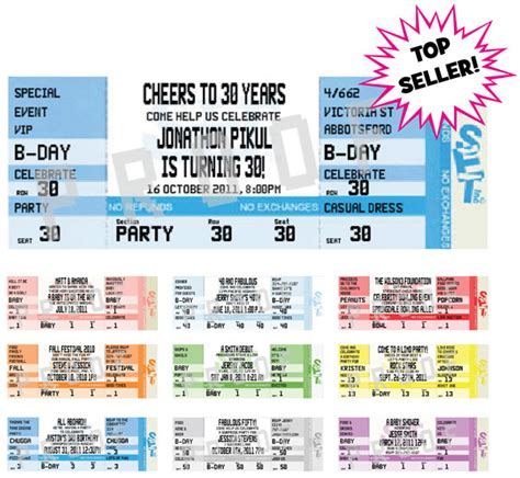 football ticket invitations templates free