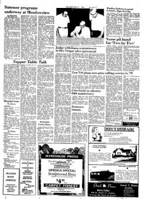 The Daily Leader Pontiac The Daily Leader From Pontiac Illinois On June 17 1977
