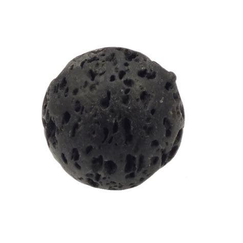 18mm semi precious gemstone black lava the bead shop