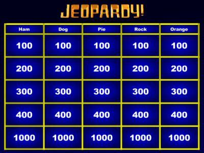 Blank Jeopardy Powerpoint Template Reboc Info Jeopardy Template