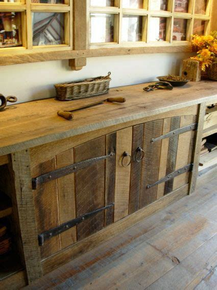 rustic cabinets pinteres