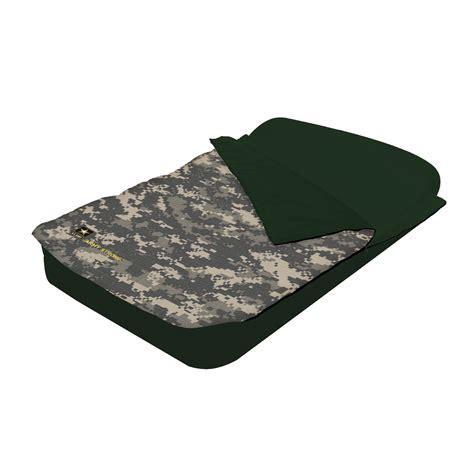 bestway  army full size air bed  sleeping bag