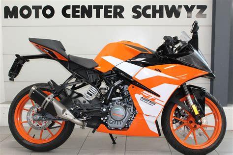 Motorrad 125 Ccm Supersportler by Motorrad Neufahrzeug Kaufen Ktm 125 Rc Supersport Moto
