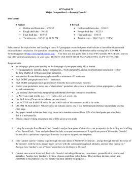Essay Topics For Grendel by Grendel Venn Diagram