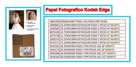 kodak revelado de papel papel fotogr 195 161 fico profesional kodak opticos y digitales