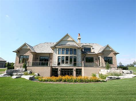 new house brand new mansion in gated community in ontario canada