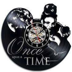 once upon a time home decor snow white vinyl clock disney vinyl wall clock vinyl