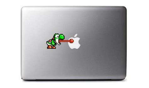 Yoshi Aufkleber Macbook by 8bit Yoshi Decal