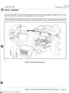 2009 2011 club car gasoline precedent maintenance and service manual