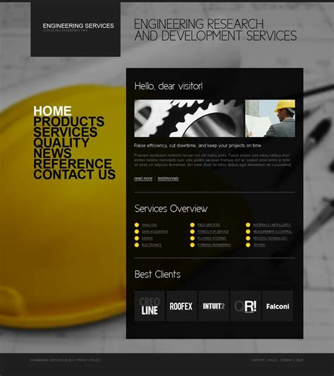 free templates for engineering website civil engineering website template web design templates