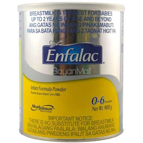 Formula Enfalac Enfalac Infant Formula Powder From 0 6 Months 900g In A Can
