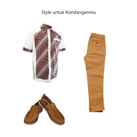 Kemeja Batik Katun Cap Elegan Batik Nurisma 4 mix match kemeja batik pria medogh untuk acar formal