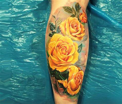 yellow rose tattoo designs 1000 ideas about yellow tattoos on