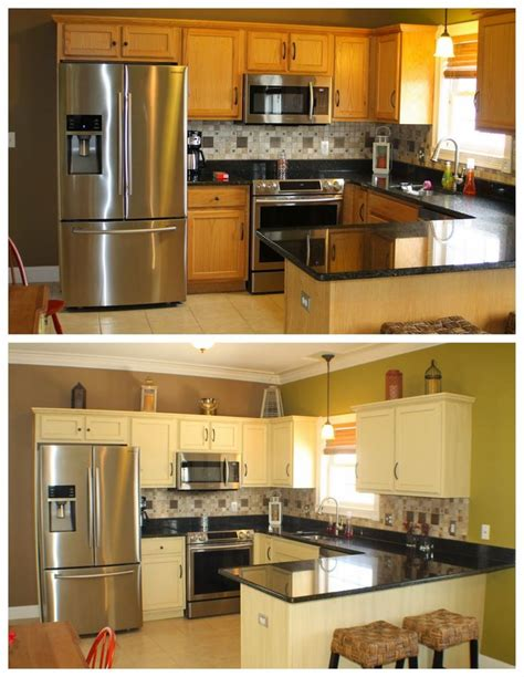 chalk paint kitchen cabinets before and after 10 best images about kitchen cabinets too on pinterest