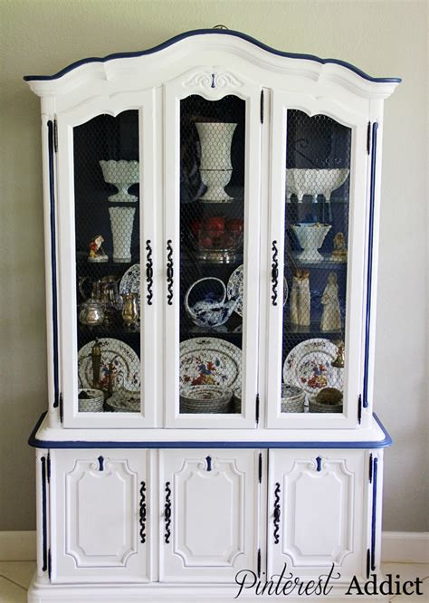 Painted China Cabinet by 404 Not Found