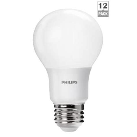 philips 60w equivalent soft white a19 led light bulb 12