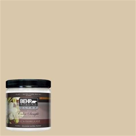 behr premium plus ultra 8 oz ppu4 13 sand motif interior exterior paint sle ul20016 the