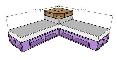 twin corner beds with storage how to diy space saving corner twin beds set