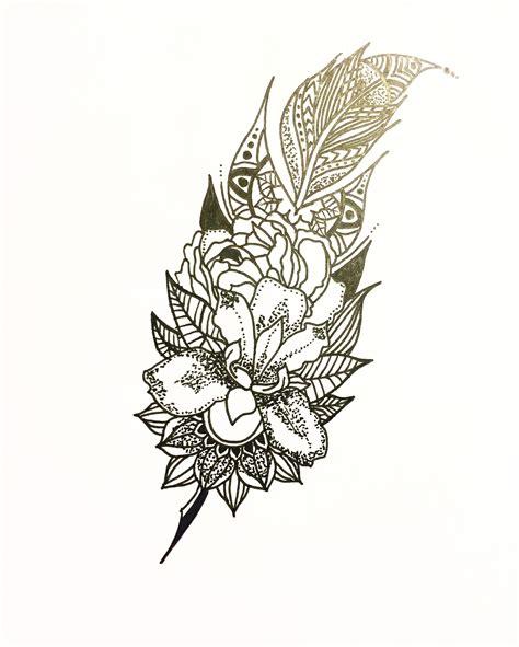 mandala tattoo artist mandala feather idea feathertattoo design