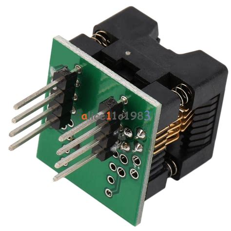 Adapter Ic Programmer Sop8 To Dip8 200 Ml soic8 sop8 to dip8 ez programmer adapter socket converter module 150mil 200mil ebay