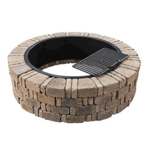 Ashwell Fire Pit Kit At Menards Fire Pit Gazebo Ideas Menards Firepit