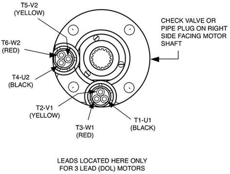 9 lead 480v motor wiring diagram 12 lead electrical motor
