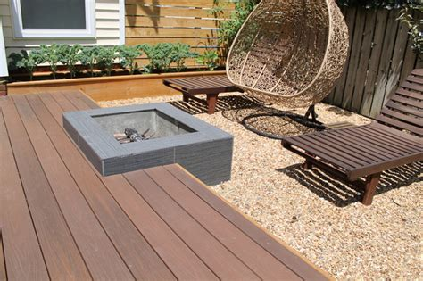 backyard platform deck modern platform deck and outdoor space