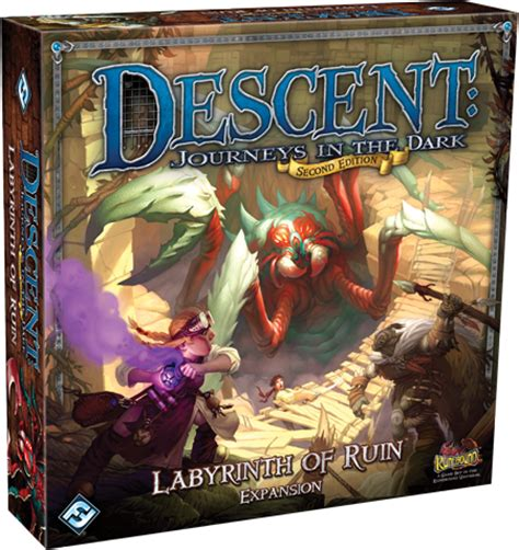 dark labyrinth edition 8498146747 descent journeys in the dark second edition labyrinth of ruin geekstop games