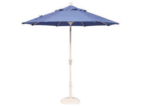 Treasure Garden Patio Umbrella Treasure Garden Market Aluminum 7 5 Octagon Push Button Tilt Crank Lift Umbrella Um907