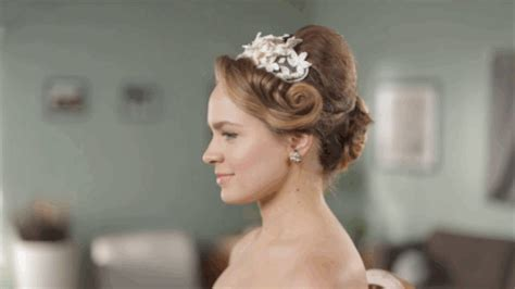 Wedding Hairstyles Buzzfeed 50 years of wedding hairstyles in two minutes