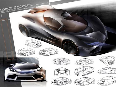mclaren lm5 concept mclaren lm5 design concept by matt williams 2009 mclaren