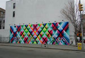 nyc the bowery wall maya hayuk big cities bright lights