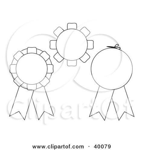 rosette template printable clipart 3d blue and green rosette award ribbons