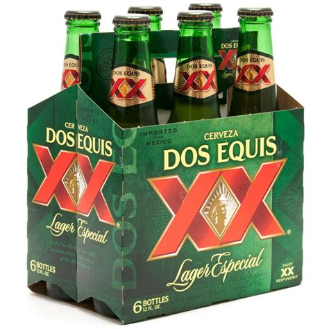 dos equis light beer dos equis xx lager especial 12oz bottle 6 pack