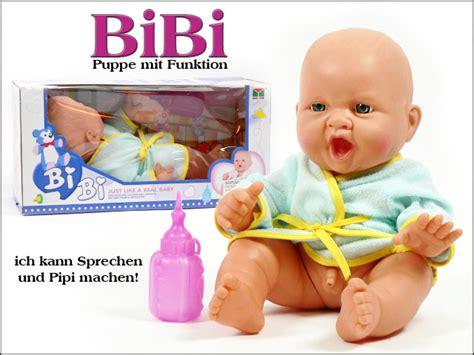 baby pinkelt bibi pinkel baby der traum jeder puppenmama spielzeug