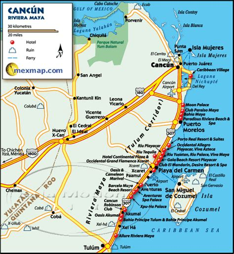 map of cancun mexico car rental cancun airport cheap car hire riviera