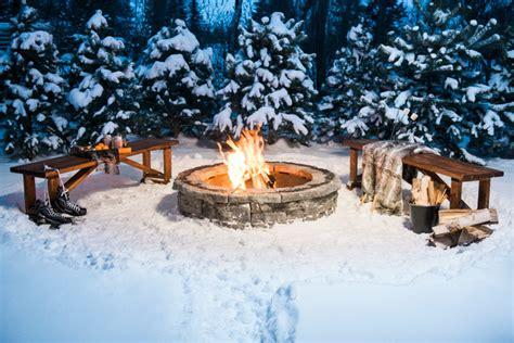 rosetta belvedere pit rosetta belvedere firepit in winter