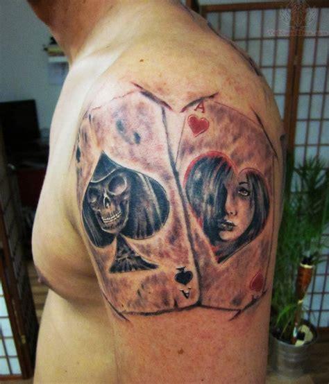poker tattoos images designs