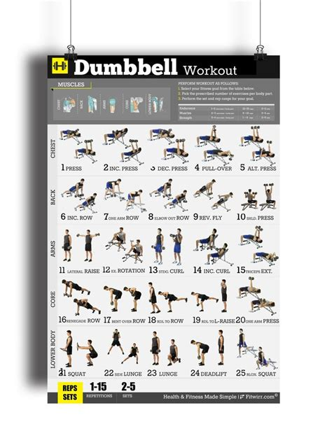 1000 ideas about dumbbell workout on