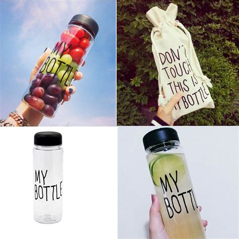 Botol Minum My Bottle 500ml Pouch 1 jual my bottle tumbler botol minum infused water