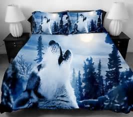 Full Size Bed Duvet Cover 3d Wolf Bedding Set Twin Full Size Duvet Cover Bed Sheet