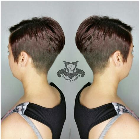 pixie stacked haircuts asymmetric stacked pixie haircut