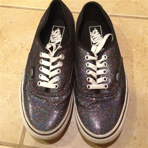 colored vans vans multi colored sparkle vans size 9 from s